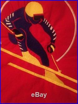 Polo Ralph Lauren USA Suicide Ski Cookie Vest 1992 L