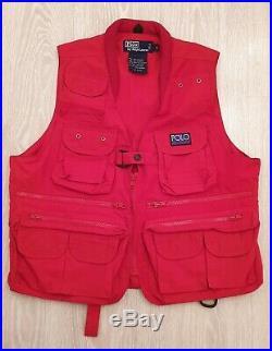Polo ralph lauren hi-tech vest vintage 90s rare