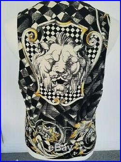 Pre-Death RARE Gianni Versace Vest Made in Italy