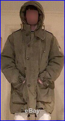 RARE Complete Ralph Lauren Military Field Parka (Shell Included) MIL-J-4883A
