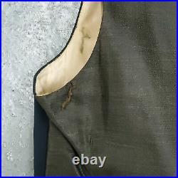 RARE Period Vintage 1920s Edwardian Victorian Men's Lined Wool Waistcoat Vest