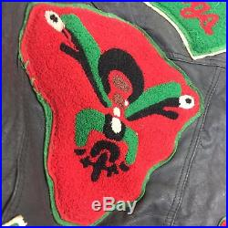 RARE Vintage AFRO DOGS Motorcycle Club MC Issued Buffalo New York Vest PATCHES