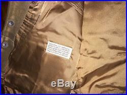 Rare 1970's Vintage 70s Levis Orange Tab Western Suede Leather Vest USA Large