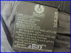 Rare Belstaff Road Master Style Nylon & Metal Fibre Shimmer Belted Jacket
