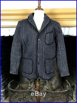 Rare Browns Beach Cloth Tailored Wool Jacket Tagged 44 Medium 40 42 Browns Vest