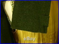 Rare Mens Burberry Alpaca Vtg Overcoat Coat Tweed Lining Luxury SZ 42 large