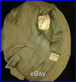 Rare Mens vintage Argyll Kilt Jacket & Waistcoat Harris Tweed Size 40 Medium