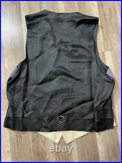 Rare Vintage Cheap And Chic Moschino Art Vest Mens size 42 Fashion Designer