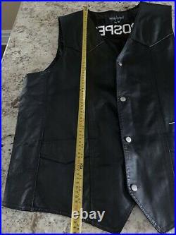 Ruff Ryders Leather Vest DMX The Lox RARE Prospect Crew