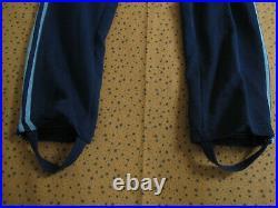 Survetement Club ADIDAS Ventex 80'S bleu veste Pantalon Tracksuit Vintage S