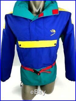 True Vintage 80s North Face Colorblock GoreTex Jacket Pullover Medium
