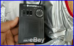 VTG 1980's Radio Enterprex Vest with Speakers. Ghetto blaster Boom BOX USA