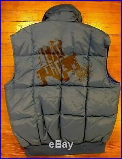 VTG 80s Puffy Vest Hiphop Rap History Beat Street Breakdancing Movie Med/Large