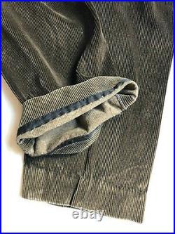 VTG FRENCH WORK Vest Waistcoat Corduroy Laboureur CHORE WORKER Jacket Workers