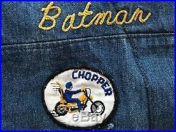 VTG Vintage RARE COBRAS M. C. San Diego, Cail Vest MMA, Motorcycle Club