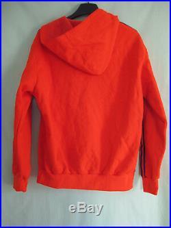 Veste Adidas Capuche Trefoil Orange Ventex France 70'S Vintage Jacket 174 / M