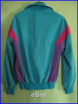 Veste Adidas Challenger Vert rose Ventex 80'S Vintage trefoil Jacket 174 / M