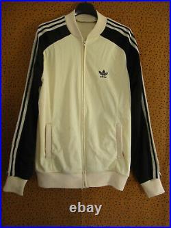 Veste Adidas Superstar ATP Ventex Vintage Crème Made in France Jacket 80'S L