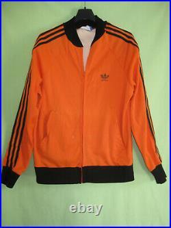 Veste Adidas Ventex Bjorn Borg Wimbledon 1974 tracktop jacket ATP Orange M