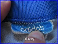 Veste Adidas Ventex Equipe de France 70'S Vintage Jacket Bleu Tracksuit S