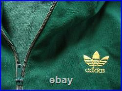 Veste Adidas Vert Made in France Ventex 80'S Vintage 1 Poche Jacket M