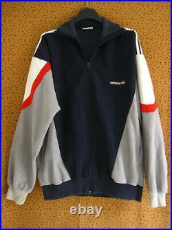 Veste Vintage Laser Marine France ADIDAS Ventex Football Jacket France 180