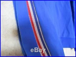 Veste équipe de FRANCE ADIDAS vintage Trefoil gold jacket tracktop années 70 M