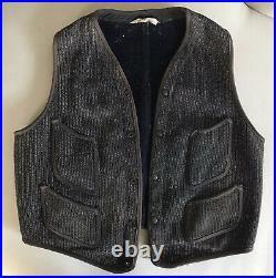 Vintage 1930s-40s Browns Beach Cloth Vest 42