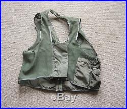 Vintage 1960s USAF Vietnam Fighter Pilots Mesh Survival Vest