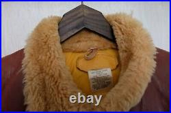 Vintage 1970's Rocky Mountain Featherbed All Leather Down Vest Jacket