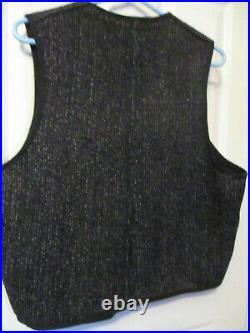 Vintage 40s Browns Beach Vest Workwear Jacket Chore Coat ORIGINAL