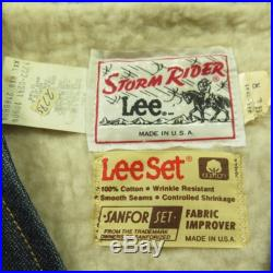 Vintage 60s Lee Trucker Sherpa Vest Mens 2XL Deadstock Storm Rider
