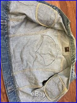 Vintage 70s 80s Chicago Hellfire Club Patch Gay Bondage/ Lee Vest Small