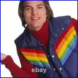 Vintage 70s rainbow Vest