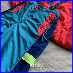 Vintage 80s SUNICE Ski Snow Bib + Vest -Ski Suit Snow Pants Snowboarding Sun Ice