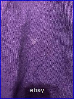 Vintage 90s Karl Kani-jeans Vest Urban Style Purple Size Large Tupac Worn