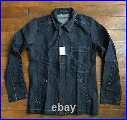 Vintage Ancienne French Work Chore Jacket Cotton Denim Veste NOS Adolphe Lafont