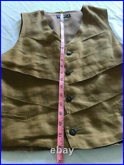 Vintage Claude Montana Vest
