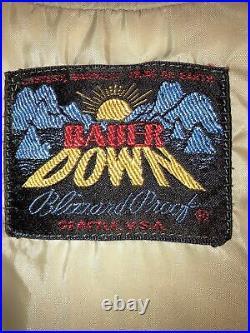 Vintage Eddie Bauer Rising Sun Logo Bauer Down Vest