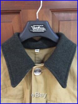 Vintage FILSON Tin Cloth Upland Hunting Cruiser Jacket, Style 62, Mens 44 (L)