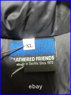 Vintage Feathered Friends Men's XL X-Large Down Green Vest