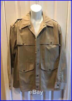 Vintage Filson Tin Cloth Cruiser Coat Jacket Mens Size 46