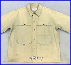 Vintage Filson Tin Cloth Cruiser Coat Jacket Mens Size M Medium