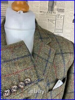 Vintage Moon Brook Taverner tweed jacket and waistcoat size 44 long