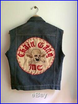 Vintage Motorcycle Club Vest