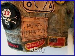 Vintage Motorcycle Club Vest 1%er