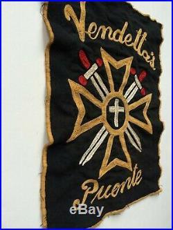Vintage Motorcycle Club Vest Patch
