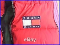 Vintage New Tommy Hilfiger Down Vest NWOT Supreme Snow Beach Polo Sport BAPE vtg