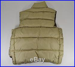 Vintage New with Tag Black Sheep Brand Puffer Vest Buddy Schoellkopf Dallas Texas