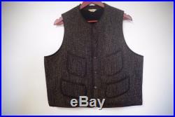 Vintage Nice 1950's Browns Beach Jacket Wool Vest Size 44